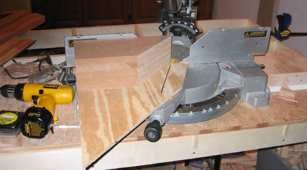 Miter saw jig acute angles definition